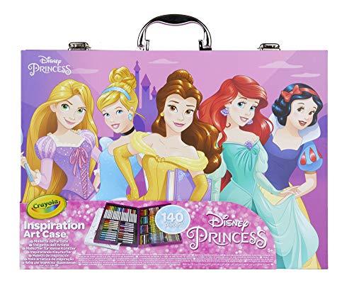 Crayola Princesses Disney Mallette de coloriage, 04-0486-E-000, Multicolor