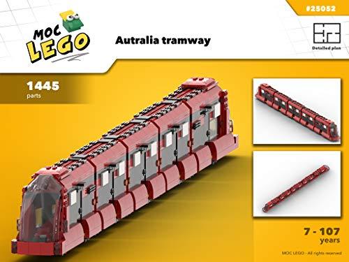 Australia tramway (Instruction Only): MOC 25052 (English Edition)