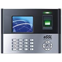 ESSL Standalone Biometric Fingerprint Time and Attendance System (Black)