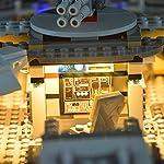LIGHTAILING-Set-di-Luci-per-Star-Wars-Millennium-Falcon-Modello-da-costruire-Kit-luce-led-compatibile-con-Lego-75105-NON-incluso-nel-modello