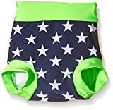Zunblock Baby UV 50 Plus Zwimmies Stars and Stripes, Lime/Navy, 12-18 Monate