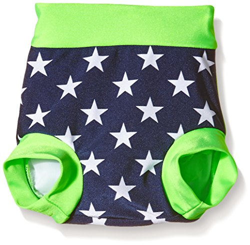 Zunblock Baby UV 50 Plus Zwimmies Stars and Stripes Lime/Navy, 3-6 Monate - Plus Sunblock