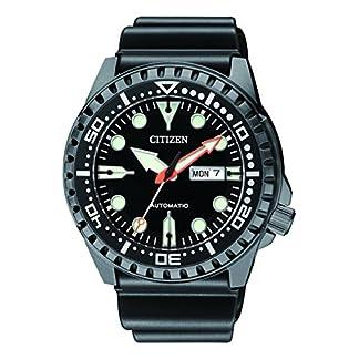 CITIZEN Reloj Analógico para Hombre de Automático con Correa en Caucho NH8385-11EE