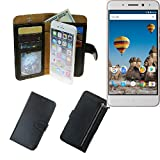 Portemonnaie Schutz Hülle für General Mobile GM 5 Plus,