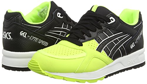 Asics Gel-lyte Speed, Sneakers Basses Mixte adulte Jaune (Safety Yellow/Black 0790)