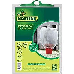 NORTENE HIVERSAC , housse hivernage, lot de 3 housses , diamètre 1.25 X hauteur 1.80