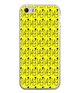 PrintVisa Be Still My Heart High Gloss Designer Back Case Cover for Apple iPhone 5