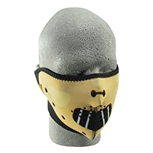 ZANheadgear Masque Facial en néoprène pour moto, quad, ski et snowboard WNFM038H