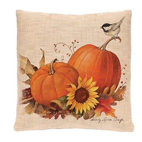 Gusspower Funda de cojín de Almohada, Halloween Impresión Sofa Almohada de la...