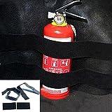 GAOHOU 1 Set Nylon Auto Trunk Store Schnelle Feuerlöscher Halter Sicherheitsgurte