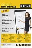 Bi-Silque FL032503 Bi-Office Kariertes Flipchartpapier