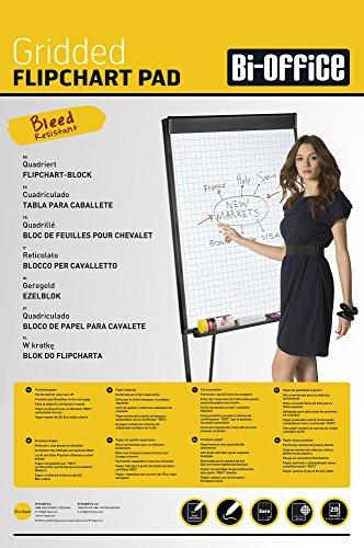 Bi-Office FL032503 Bi-Office Kariertes Flipchartpapier