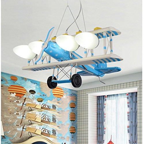 ✚ Flugzeug Kreative Karikatur Led-Leuchten Kinderzimmer
