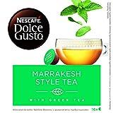 NESCAFÉ Dolce Gusto Marrakesh Style Tea, Pack de 3 x 16 Cápsulas - Total: 48 Cápsulas de té