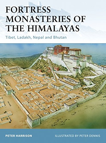 Fortress Monasteries of the Himalayas: Tibet, Ladakh, Nepal and Bhutan por Peter Harrison