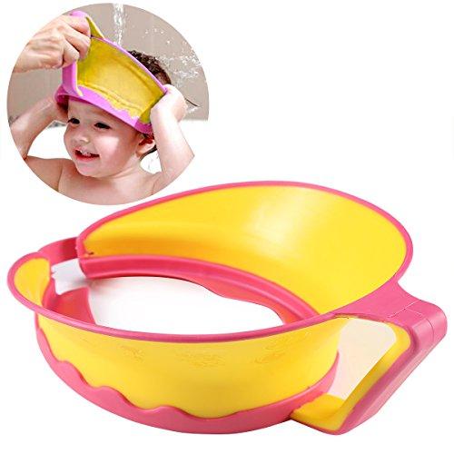 ONEDONE réglable Shampooing Bain Douche Protéger Casquette Visière Chapeau pour bébé enfant adulte