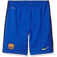 Nike FCB Ha Gk Stadium Short - Pantalón Corto Fútbol Club Barcelona 2015/2016 para niño, Color Azul/Dorado, Talla L