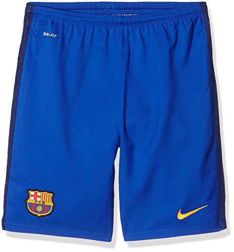 Nike FCB HA GK STADIUM-Shorts FC BARCELONA 2015/2016 Für Kinder XL Azul / Dorado (Bright Blue/Loyal Blue/University Gold) (Side Badehose Panel)