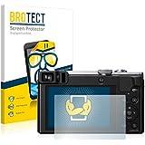 2x BROTECT Protector Pantalla Panasonic Lumix DMC-TZ70 Película Protectora – Transparente, Anti-Huellas