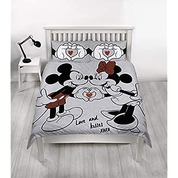 Disney Novelty Character Kids Duvet Cover Reversible Quilt Bedding Pillow Case