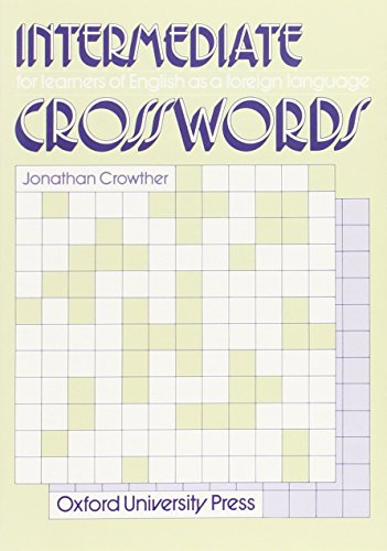 Intermediate Crosswords PDF Books