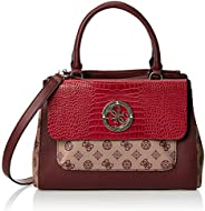 GUESS Womens Handbags, Red (Merlot Multi) - SC744106
