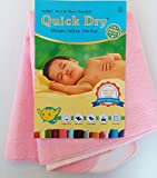 Quick Dry Safety Stitched Bed Protector,...