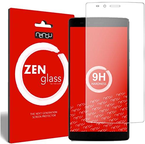 nandu I ZenGlass Flexible Glas-Folie für Vernee Apollo Lite 4G (5,5 Zoll) Panzerfolie I Bildschirm-Schutzfolie 9H