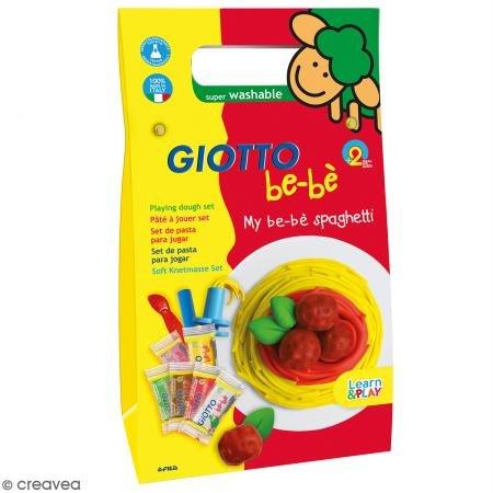 Set Modelliermasse Giotto Baby–Spaghetti–16PCs