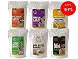 #2: Early Foods - (6 Trial Pack Combo) Organic Porridge Mixes & Dry Dates Powder - 50g each