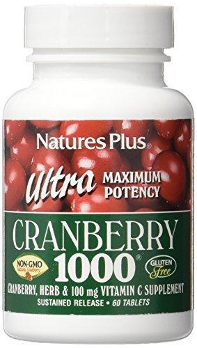 Natures Plus Ultra Cranberry (CRANBERRY ULTRA 1000. 60 COMP.)
