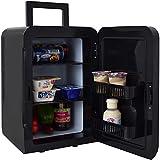 Gino Gelati 2 in 1 Mini Kühlschrank mit Kühl- und Heizfunktion an der Steckdose und am Zigarettenanzünder anschließbar GG-57W-18L BL Cool
