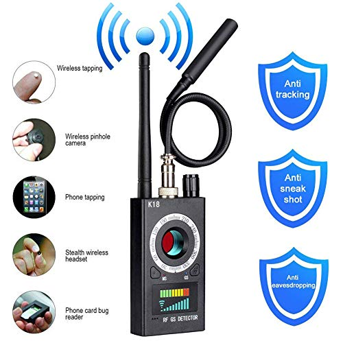 Anti-Spion-Detektor, RF-Detektor & Kamera-Finder, Bug-Detektor, verbesserter RF-Signal-Detektor, GSM-Tracking-Gerät für Wireless Audio Bug Hidden Camera Detector Gsm-handy-tracking