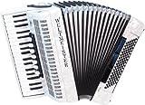 CAMPIONE DEL MONDO piano fisarmonica Opal weissperloid