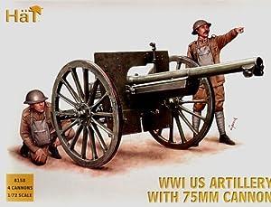 HäT 8158 - Artillería Estadounidense Primera Guerra Mundial