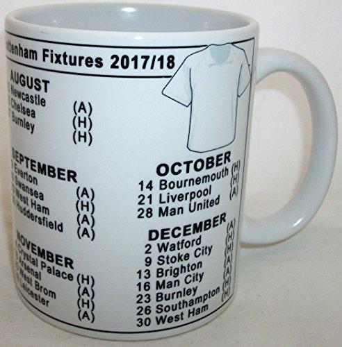 Football-Season-2017-2018-Fixtures-Mug-Tottenham