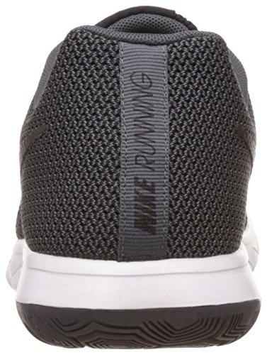 Nike Flex Run 2015, Chaussures de Running Compétition Homme Black/Dark Grey/White