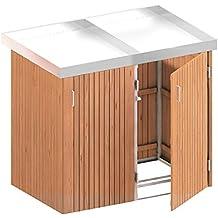 BINTO Mülltonnenbox Hartholz, Müllbox System 17