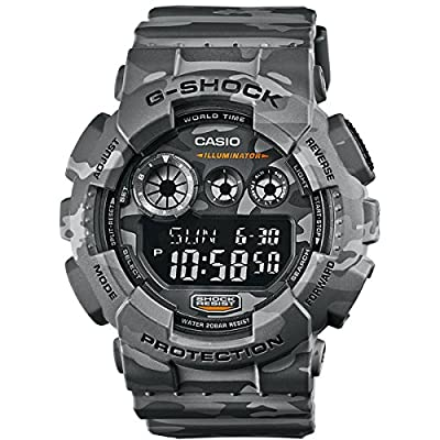 Casio G-Shock Specials - Reloj de cuarzo para hombre, con correa de plástico, color gris
