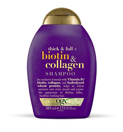 OGX Thick & Full + Biotin & Collagen Shampoo 385 ml