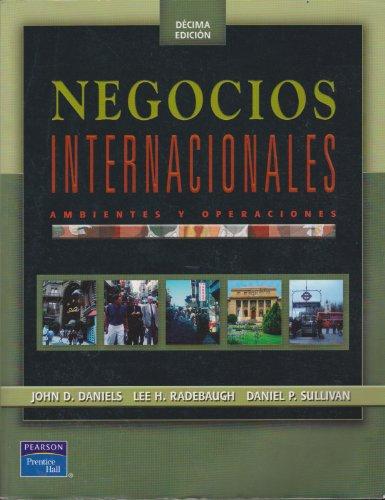 Negocios Internacionales / International Business: Ambientes Y Operaciones