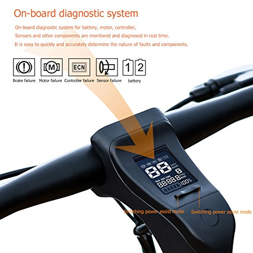 51muuiw2dnL. SS500  - GTYW Electric Bicycle Mountain Bicycle City Fashion Simple Moped Removable Lithium Smart -Built-in Bluetooth Stereo Mountain Bike