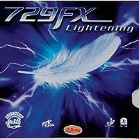 Friendship 729FX Lightning tenis de mesa caucho, rojo