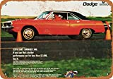 1970 Dodge Dart Swinger 340 Metall-Schild, Reproduktion, Vintage-Look