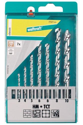 Preisvergleich Produktbild Wolfcraft 7727000 7 Steinbohrer HM