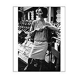 10x8 Print of Pringle fashion 1965 (14237742)
