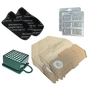 FRESCO 5 x 3D Tipo GN Hoover sacchetti per sacchetti per aspirapolvere Miele S5000 Serie S5 aspirapolvere filtri