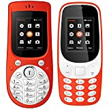 I Kall 1.8 Inch Mobile Combo Of K3310 And K18 New (Red And Red)