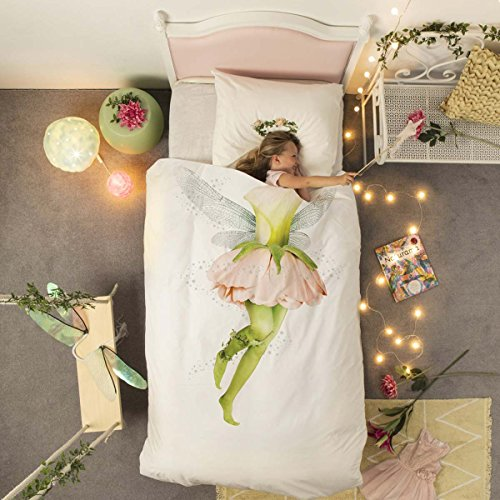 Snurk Fairy Duvet Cover Set, Single Uk Size