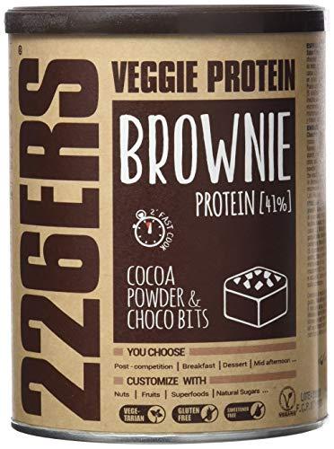 226ERS Evo Veggie Protein Brownie, Mezcla para Brownies de Proteína Veganos con...